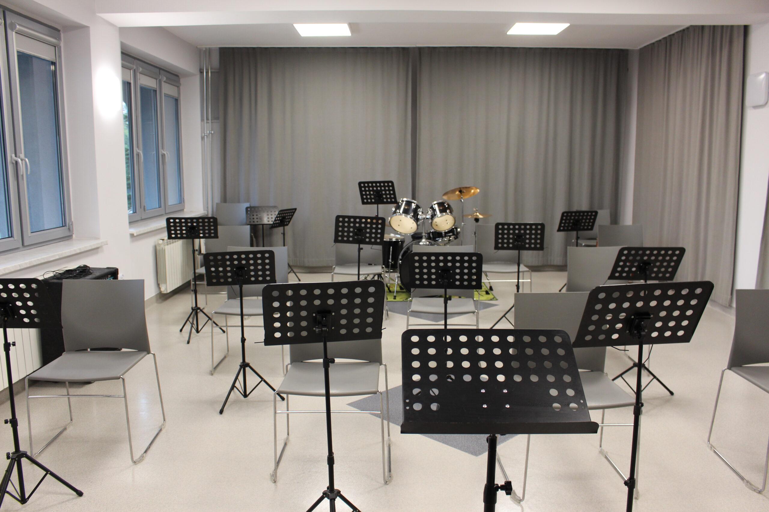 Zajęcia Młodzieżowej Orkiestry Dętej