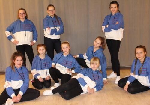 Grupa tańca nowoczesnego